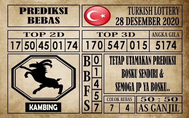 Prediksi Turkish Lottery Hari ini 28 Desember 2020