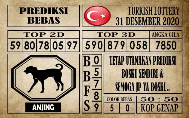 Prediksi Turkish Lottery Hari ini 31 Desember 2020