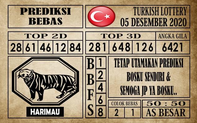 Prediksi Turkish Lottery Hari ini 05 Desember 2020