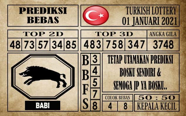 Prediksi Turkish Lottery Hari ini 01 Januari 2021