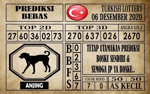 Prediksi Turkish Lottery Hari ini 06 Desember 2020