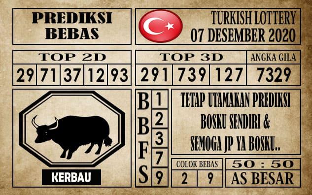 Prediksi Turkish Lottery Hari ini 07 Desember 2020
