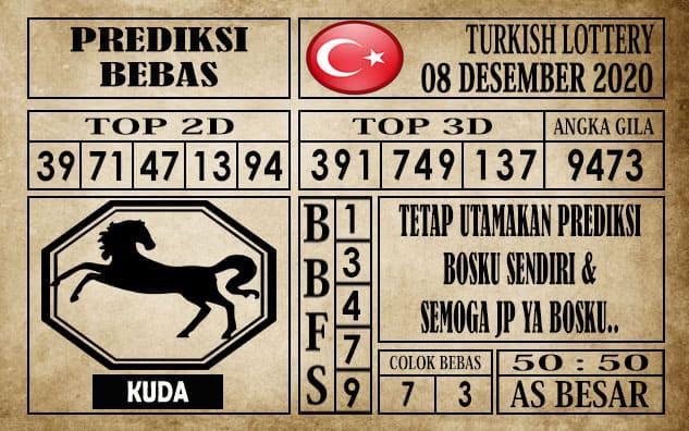 Prediksi Turkish Lottery Hari ini 08 Desember 2020
