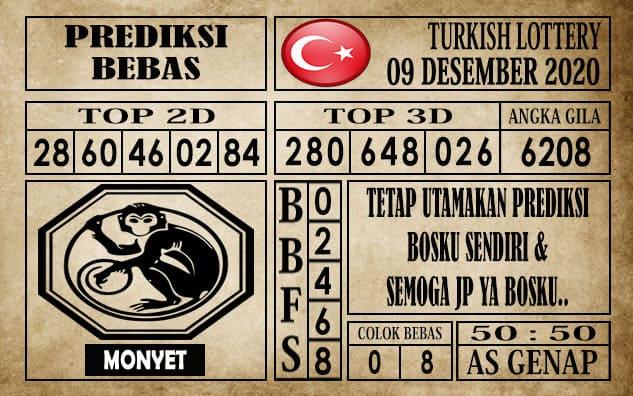 Prediksi Turkish Lottery Hari ini 09 Desember 2020