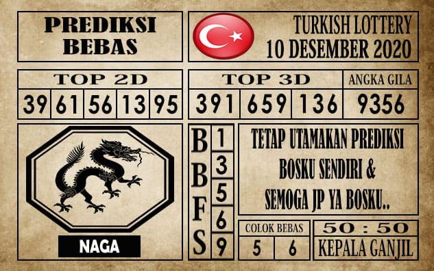 Prediksi Turkish Lottery Hari ini 10 Desember 2020