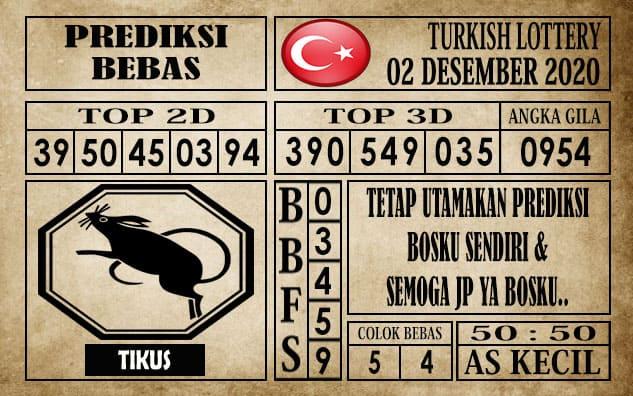 Prediksi Turkish Lottery Hari ini 02 Desember 2020