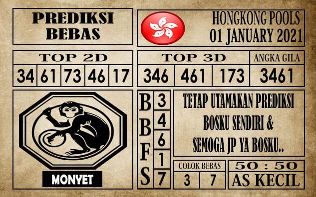 Prediksi Hongkong Pools Hari Ini 01 Januari 2021
