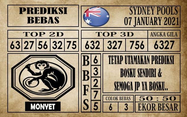 Prediksi Sydney Pools Hari Ini 07 Januari 2021