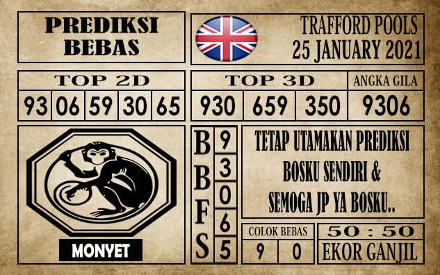 Prediksi Trafford Pools Hari Ini 25 Januari 2021
