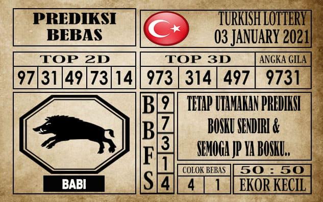 Prediksi Turkish Lottery Hari Ini 03 Januari 2021