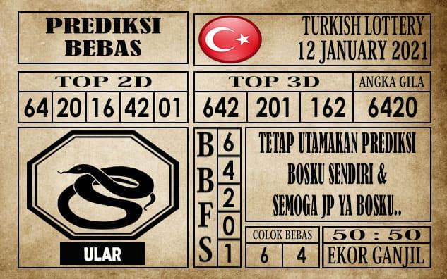 Prediksi Turkish Lottery Hari Ini 12 Januari 2021