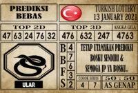 Prediksi Turkish Lottery Hari Ini 13 Januari 2021