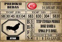 Prediksi Turkish Lottery Hari Ini 14 Januari 2021