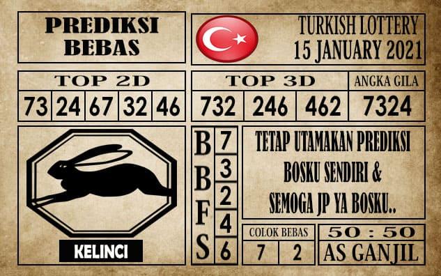 Prediksi Turkish Lottery Hari Ini 15 Januari 2021
