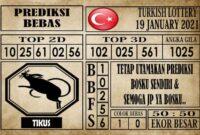 Prediksi Turkish Lottery Hari Ini 19 Januari 2021