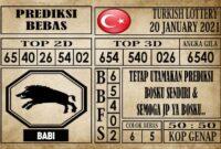 Prediksi Turkish Lottery Hari Ini 20 Januari 2021