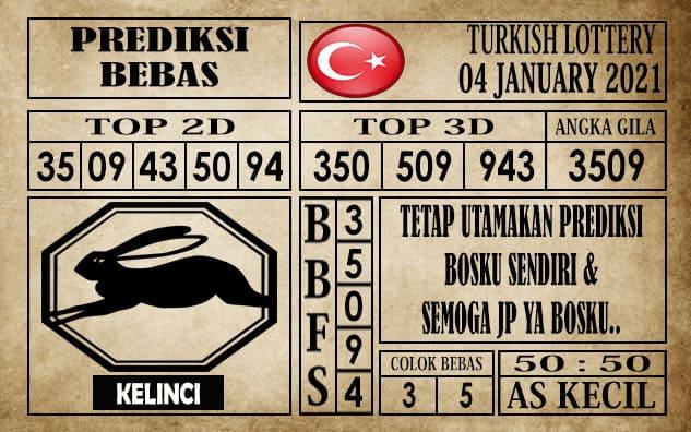 Prediksi Turkish Lottery Hari Ini 04 Januari 2021