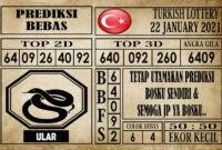 Prediksi Turkish Lottery Hari Ini 22 Januari 2021