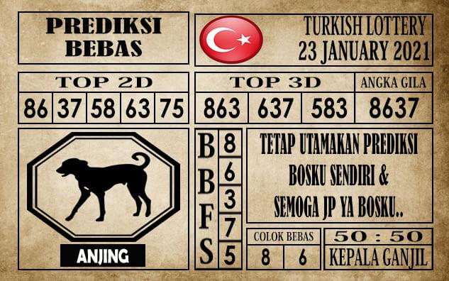 Prediksi Turkish Lottery Hari Ini 23 Januari 2021