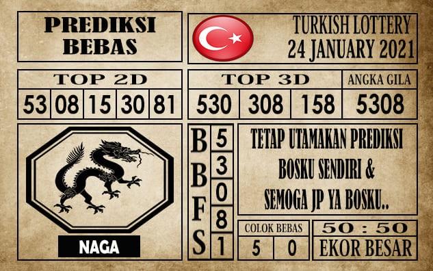 Prediksi Turkish Lottery Hari Ini 24 Januari 2021