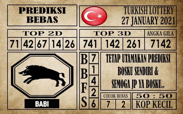 Prediksi Turkish Lottery Hari Ini 27 Januari 2021