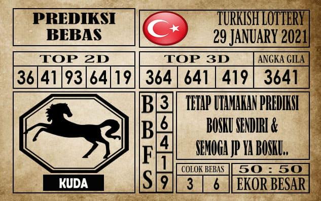 Prediksi Turkish Lottery Hari Ini 29 Januari 2021