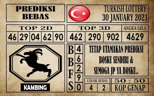Prediksi Turkish Lottery Hari Ini 30 Januari 2021