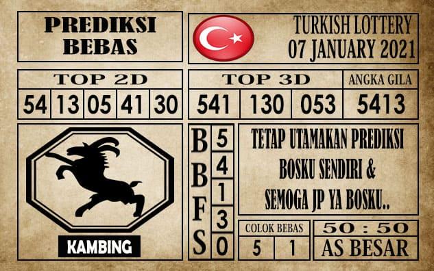 Prediksi Turkish Lottery Hari Ini 07 Januari 2021