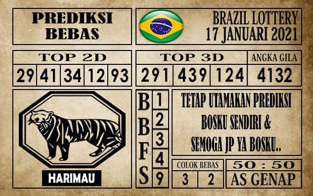 Prediksi Brazil Lottery Hari Ini 17 Januari 2021