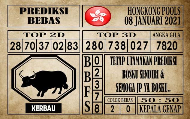 Prediksi Hongkong Pools Hari Ini 08 Januari 2021