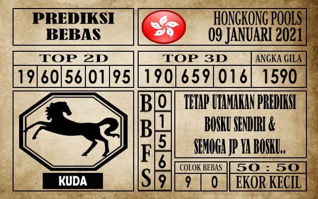 Prediksi Hongkong Pools Hari Ini 09 Januari 2021