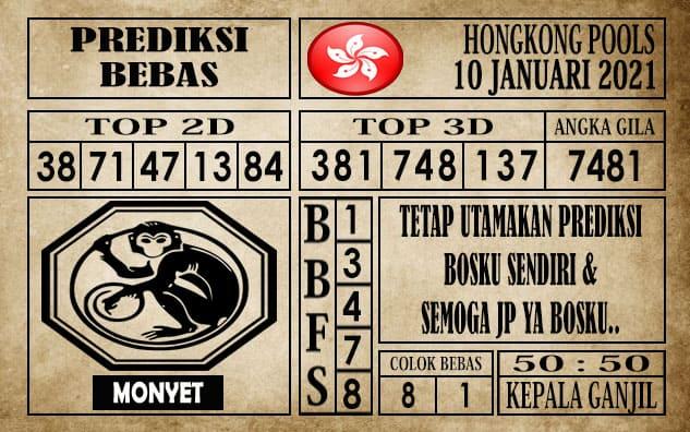 Prediksi Hongkong Pools Hari Ini 10 Januari 2021