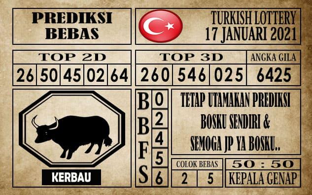 Prediksi Turkish Lottery Hari ini 17 Januari 2021