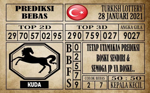 Prediksi Turkish Lottery Hari ini 28 Januari 2021
