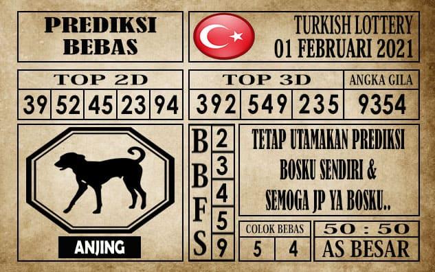 Prediksi Turkish Lottery Hari Ini 01 Febuari 2021