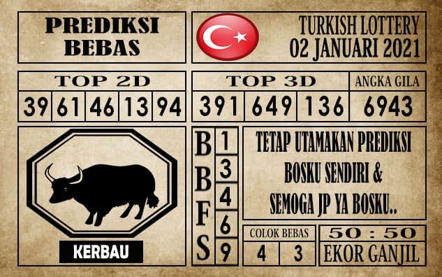 Prediksi Turkish Lottery Hari ini 02 Januari 2021