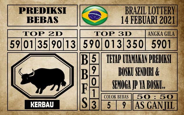 Prediksi Brazil Lottery Hari Ini 14 Februari 2021