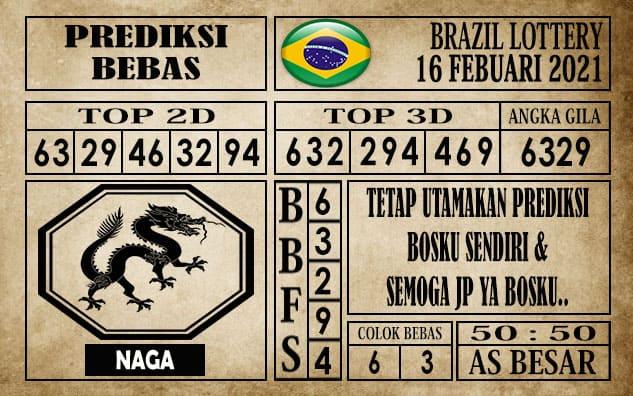 Prediksi Brazil Lottery Hari Ini 16 Februari 2021