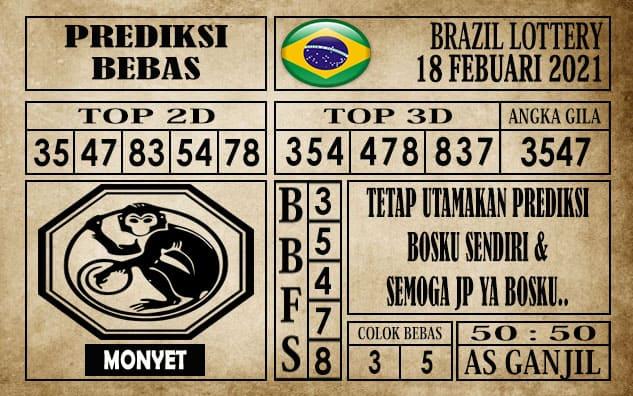 Prediksi Brazil Lottery Hari Ini 18 Februari 2021