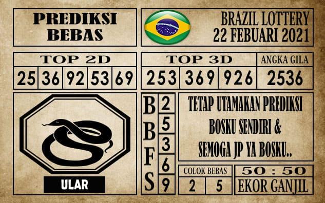 Prediksi Brazil Lottery Hari Ini 22 Februari 2021