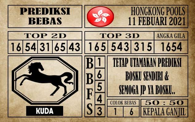 Prediksi Hongkong Pools Hari Ini 11 Februari 2021