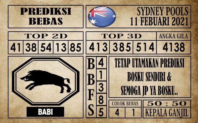 Prediksi Sydney Pools Hari Ini 11 Februari 2021