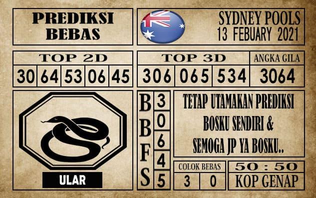 Prediksi Sydney Pools Hari Ini 13 Februari 2021