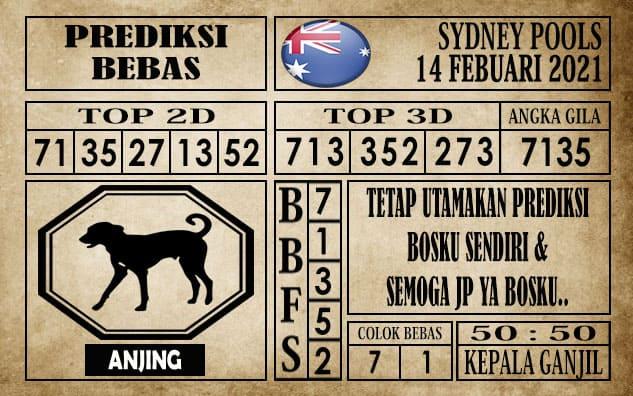 Prediksi Sydney Pools Hari Ini 14 Februari 2021