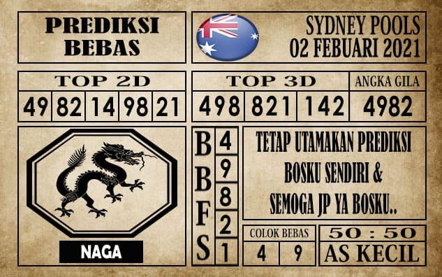Prediksi Sydney Pools Hari Ini 02 Febuari 2021