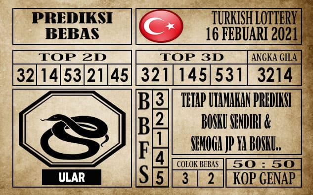 Prediksi Turkish Lottery Hari Ini 16 Februari 2021