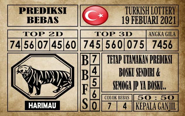 Prediksi Turkish Lottery Hari Ini 19 Februari 2021