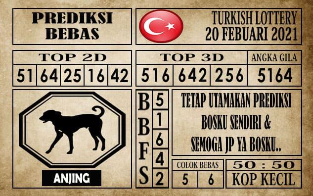 Prediksi Turkish Lottery Hari Ini 20 Februari 2021