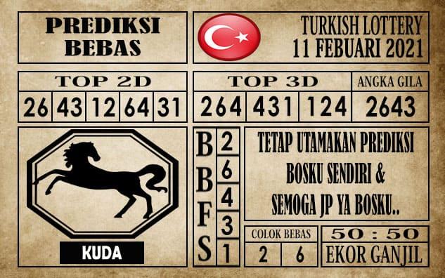 Prediksi Turkish Lottery Hari Ini 11 Februari 2021