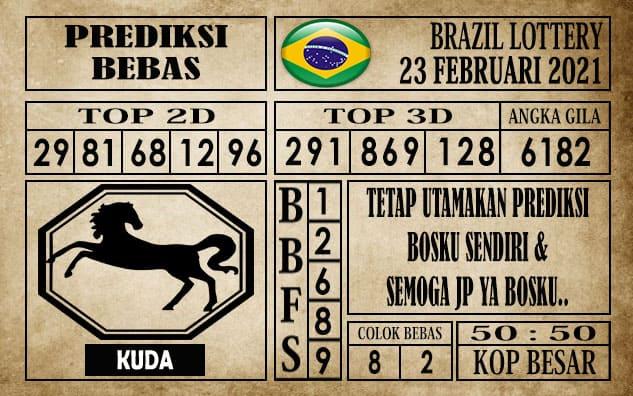 Prediksi Brazil Lottery Hari Ini 23 Februari 2021